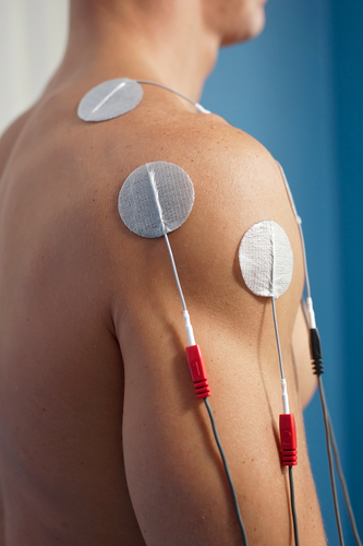 Interferential current therapy
